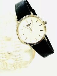 Vintage Sharp Men's Quartz Wrist Watch Slim NEW OLD STOCK FROM THE 80s(20412M)
