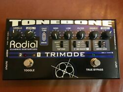 Radial Engineering Tonebone Trimode tube distortionoverdrive - virtually new!
