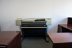 HP DesignJet 500 C7770B Large Format Plotter Printer *VERY LIGHT USE* $1100.00