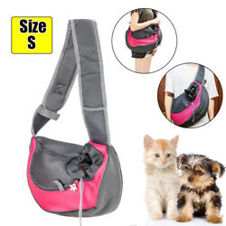Outdoor Small Shoulder Bag Pouch Travel Pet Dog Puppy Cat Carrier Bag Sling USA $16.99