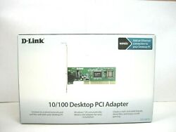 D Link Fast Ethernet Adapter 10 100Mbps PCI 1 x RJ45 NOS QTY 1 ea A04 3 $17.99