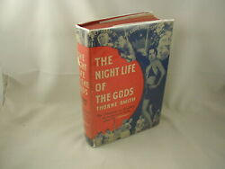 Thorne Smith The Night Life of the Gods DJ Classic Humor Cover Film Tie-In