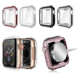 [2 Pack] For Apple Watch Series 5 40mm 2019 Soft TPU Protective Case Thin Cover