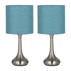 Modern Bedroom Living Room Dormitory Table Desk Lamps Beside Nightstand Set of 2