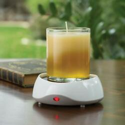 Auto Shut Off Original Candle Plate Warmer For Jar Candles By Candle Warmers $13.99