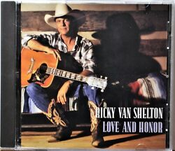CD Ricky Van Shelton Love and Honor Wherever She Is Lola's Love Complicated NICE