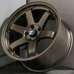 17x817x9 Matte Bronze Wheels AVID1 AV06 AV-06 5x114.3 3542 (Set of 4)
