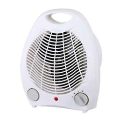 Brentwood H-F302W 1500-Watt Portable Electric Space Heater and Fan White $28.99