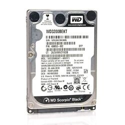 Assorted Brands 2.5quot; 320GB SATA Laptop HDD Hard Drive Tested amp; Wiped $10.99