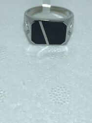 925 sterling silver mens rings Size 11 $35.00