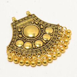 Classic Traditional Bali Look Ethnic Style Jewelry Pendant 2.56 Inch 1651