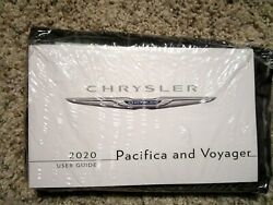 2020 Chrysler Pacifica-Voyager  Factory OEM Owners Manual Set Factory Sealed New $67.96