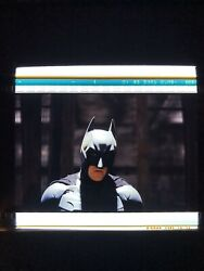 The Dark Knight Rises Film Cell Lot of 3 IMAX 1570mm
