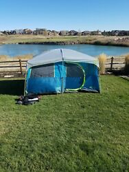 Coleman Tenaya Lake Fast Pitch 8-Person Cabin Tent with Closet (Free Ship)