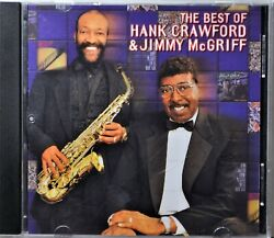 CD Best of Hank Crawford & Jimmy McGriff Jazz One Mint Julep Jimmy's Groove NICE