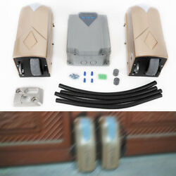 Automatic Swing Gate Opener for Heavy Duty Double Dual Gate Garage+ 2 Controller