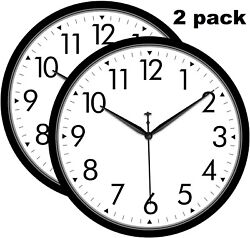 Large Wall Clock Oversized Living Room Silent Decorative Home Modern Big Office $12.99