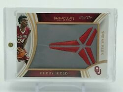 2016-17 Immaculate Collection Collegiate Immaculate Sneak Peek Buddy Hield 11