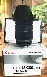 Canon EF-S 18-200mm f3.5-5.6 IS - She's A Beauty!