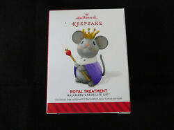 HALLMARK 2014 Associate Ornament Gift  ROYAL TREATMENT New in Box