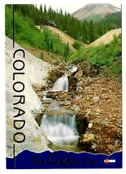 Colorado The Golden Era Postcard Gold Rush Panning for Gold Sluice Boxes Mining $3.19