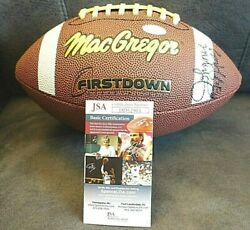 GREEN BAY PACKERS AUTOGRAPHED FOOTBALL (DICKEY BUTLER GRAY WINTERS) WCOA