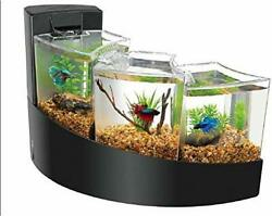 Betta Falls Kit Three Separate Compartment House Adjustable Flow Rate 17*11*11.5
