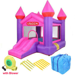 Safety Inflatable Bounce House Kids Moonwalk Jump Castle Slide with Air Blower $199.99