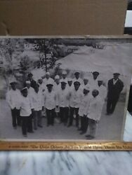 Extremely Rare African American Butler's an chefs for the Southern Railroad