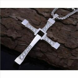 Cross pendant necklace hip-hop Men's Classic fashion necklace Fast and Furious 7
