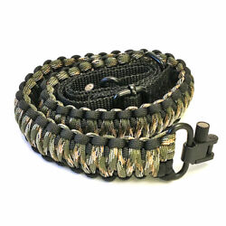 Sirius Survival 2 Point Gun Sling 550 Paracord Adjustable with Swivel $18.95