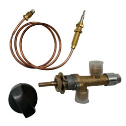 Gas Heater Valve Assembly Control Liquefied Propane Thermocouple Furnace Parts