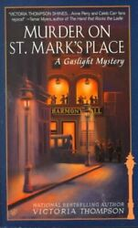 Murder on St. Mark's Place Paperback by Thompson Victoria Acceptable Condi...