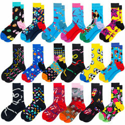 Mens For Socks Crazy Novelty Casual Cotton Funny Warm Fancy Dress Gifts $3.03