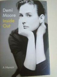 Inside Out by Demi Moore - NEW hardcover book (2019)