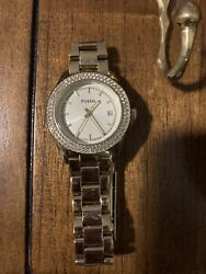 Pre owned gold toned Womens Fossil watch $35.00
