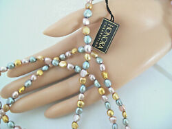Honora Multi Color Freshwater Baroque Pearls 62