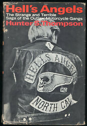 Hell's Angels Hunter S. Thompson Classic Motorcycle Bike Gang