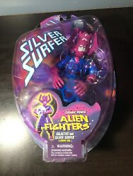 The Silver Surfer Cosmic Power Alien Fighters Galactus Action Figure Toy Biz NEW