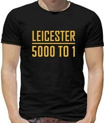 Leicester Odds Mens T-Shirt - FC - Foxes - Football - Premiership - LCFC - Vardy