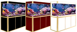 175 Gallon Ultra Clear Glass Fish Tank Aquarium w LED Light Stand Pump Jajale