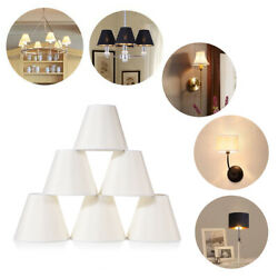 6Pcs Candle Lamp Shade Clip On Chandelier Pendant Wall Light Shade Bulb Covers $37.99