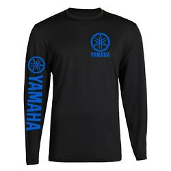 New Yamaha Racing Black Long Sleeve TEE YZF R1 R6 Banshee T shirt Long Sleeve