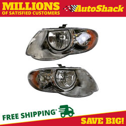 Head Light Assembly Pair for 2005 2006 2007 Chrysler Town & Country $86.67