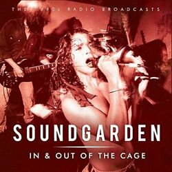 SOUNDGARDEN - IN & OUT OF THE CAGE - 15 SONG RAREIMPORT - CD  FREE SHIPPING