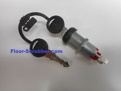 Replacement Floor Scrubber Key Switch Tennant Nobles SS5 T5e 1011402 1017696 $16.95