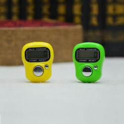 Digit Digital LCD Electronic Golf Finger Hand Ring Knitting Row Tally Counter G C $0.99