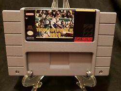 Tecmo Super Bowl III 3 2020 Super Nintendo SNES Game