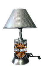 Harley Davidson Lamp with chrome shade Vtwin