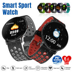 Bluetooth Women Men Smart Watch Sport Fitness Tracker Monitor For iPhone Android $16.99